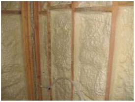 Spray foam insulation for home or business