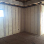 spray foam insulation on walls