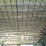 spray foam insulation for warehouse ceiling