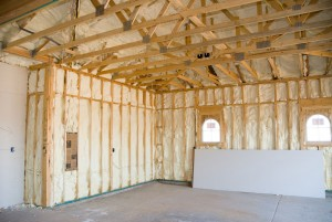 Batt Insulation in Walls Picture