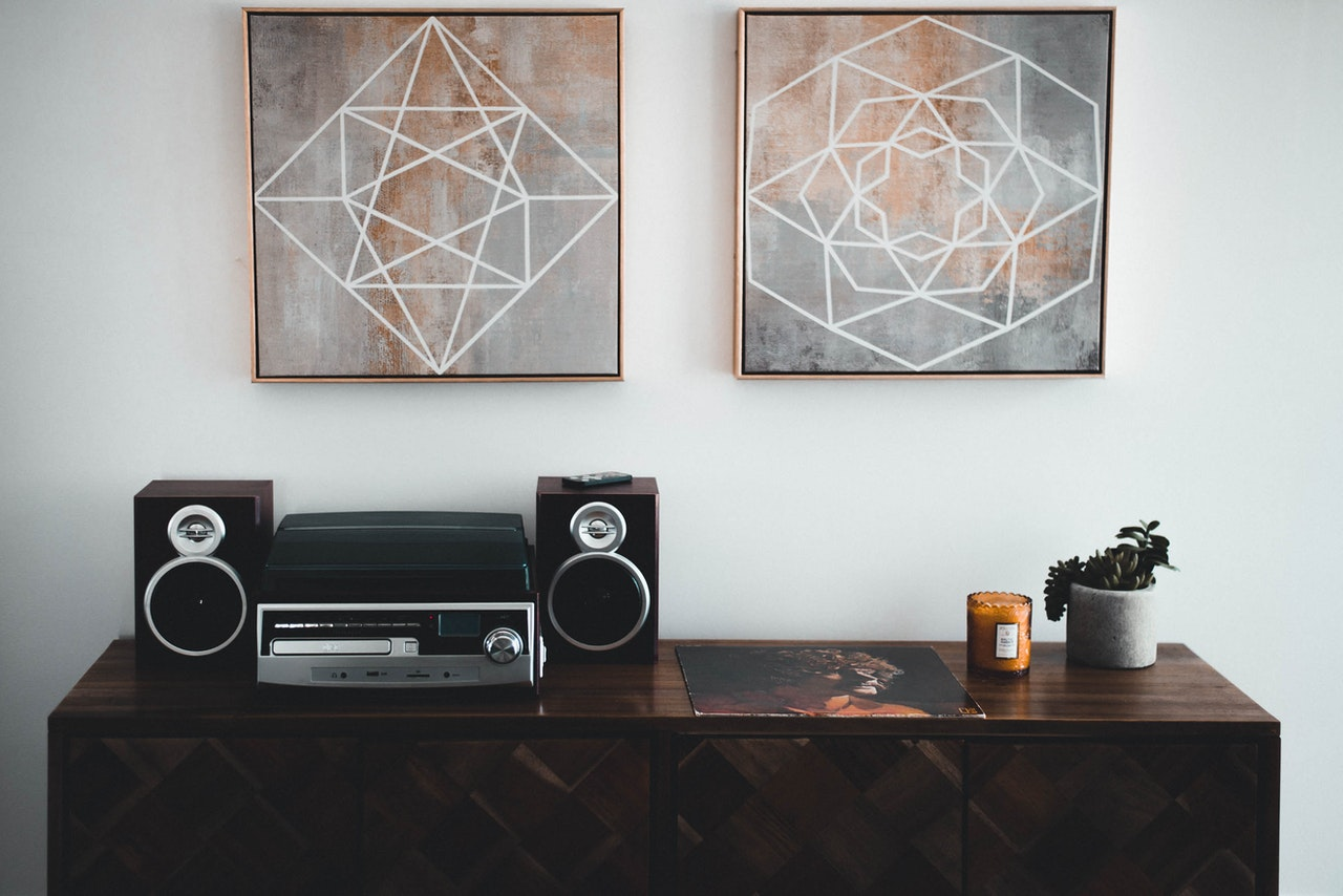 Sound-system-in-home